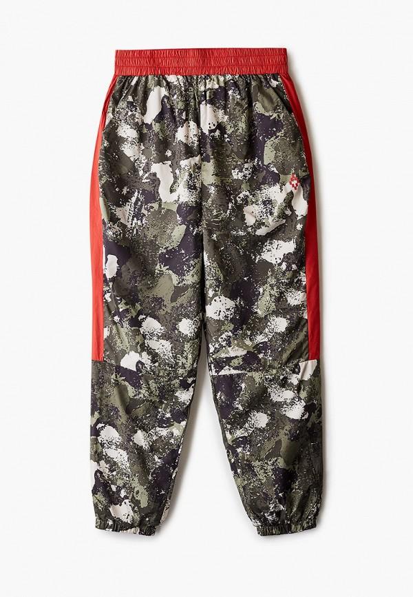 спортивные брюки marcelo burlon kids of milan для мальчика, хаки