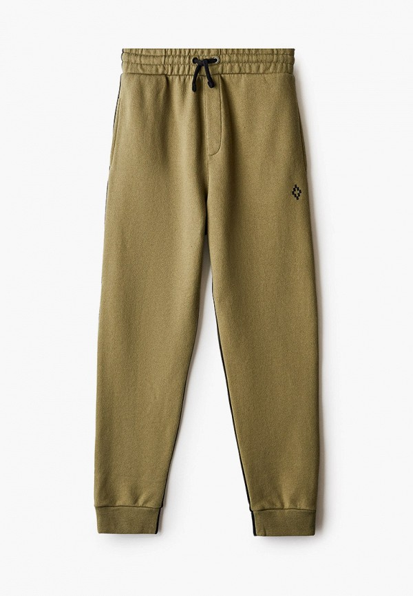 спортивные брюки marcelo burlon kids of milan для мальчика, разноцветные