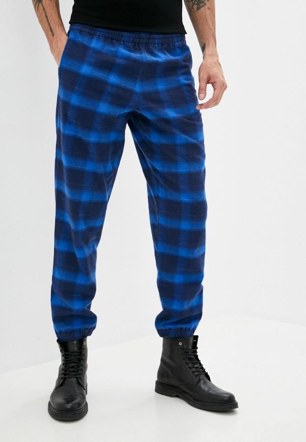 мужские повседневные брюки marcelo burlon county of milan, синие