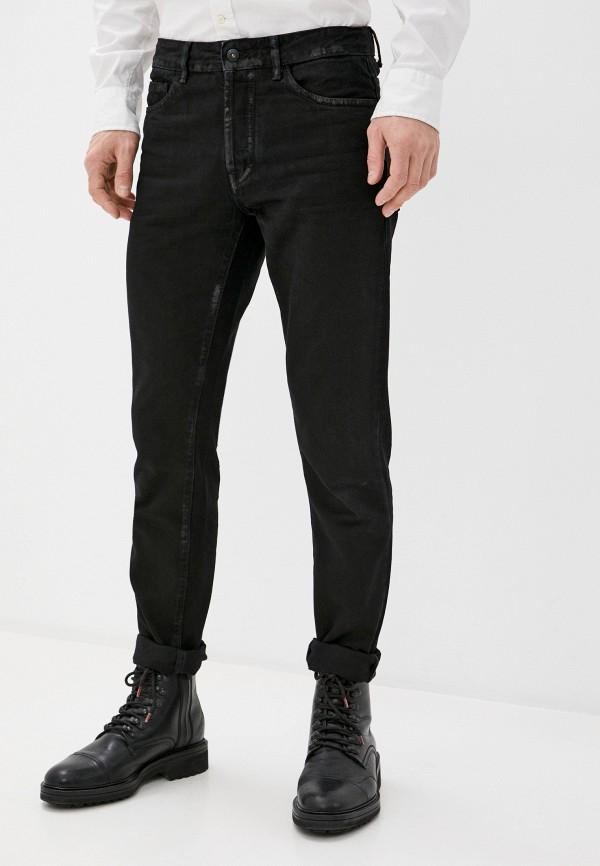 мужские зауженные джинсы marcelo burlon county of milan, черные