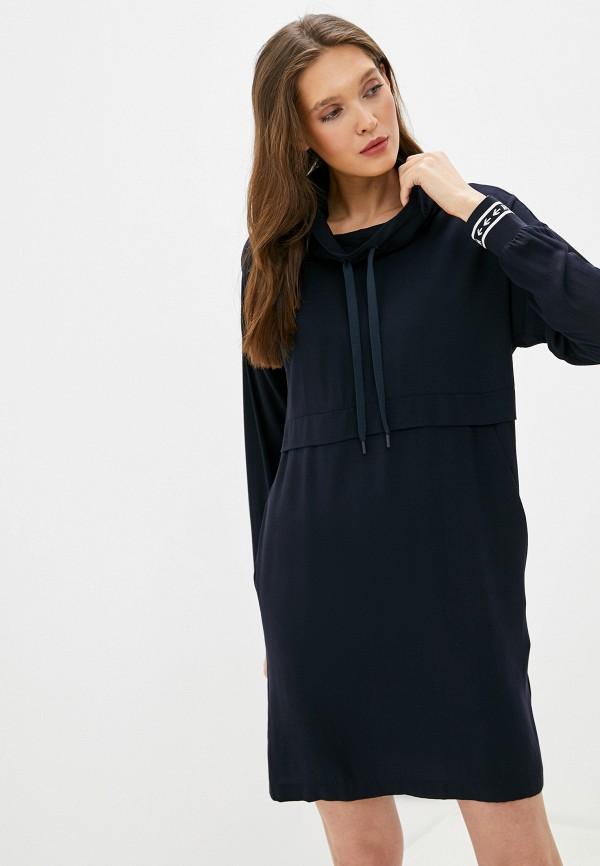 женское повседневные платье marc o'polo denim, синее