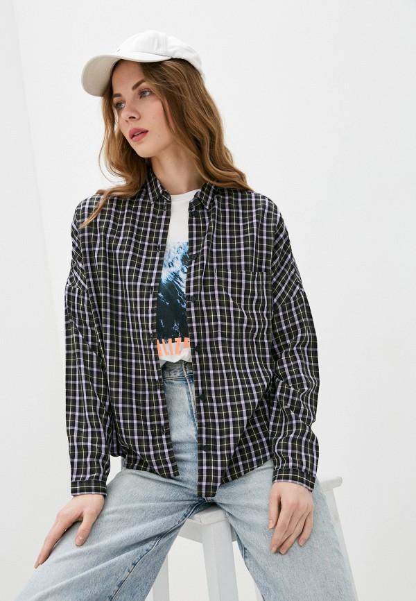 женская рубашка с длинным рукавом marc o'polo denim, разноцветная