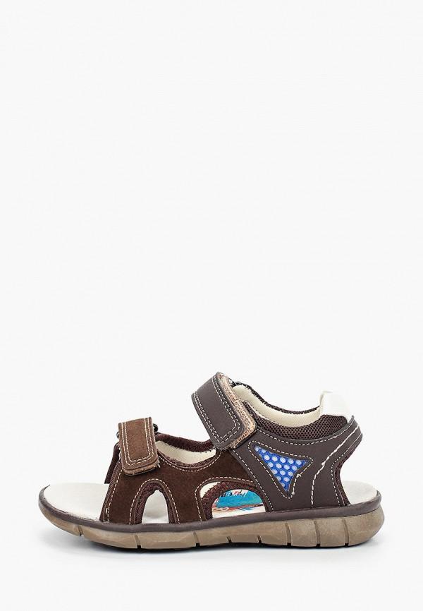 сандалии marko для мальчика, коричневые