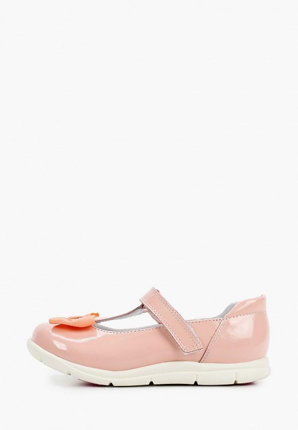 туфли marko для девочки, розовые
