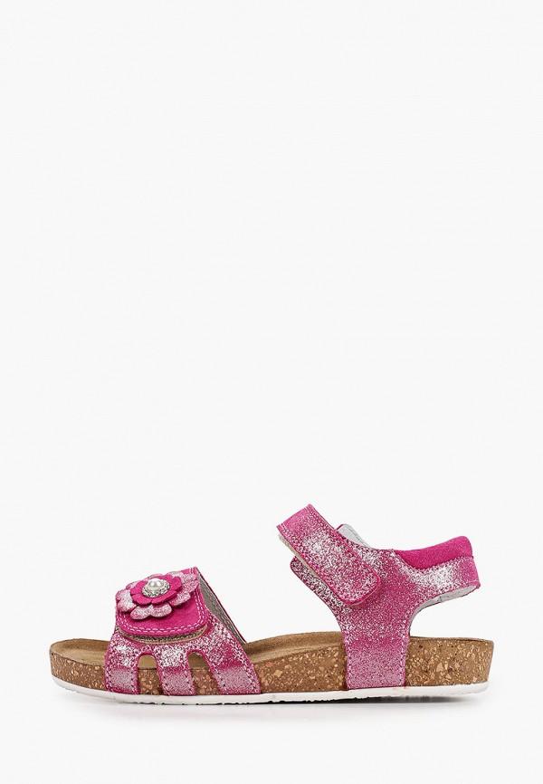 сандалии marko для девочки, розовые