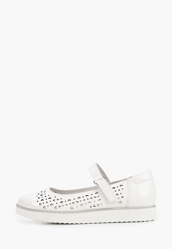 туфли marko для девочки, белые
