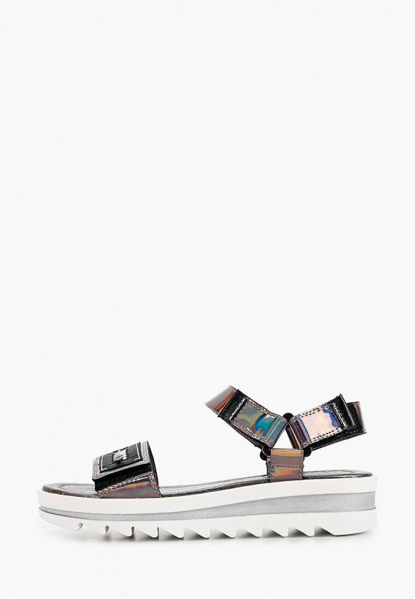 сандалии marko для девочки, серебряные
