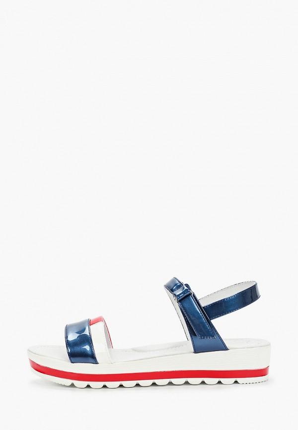 сандалии marko для девочки, синие