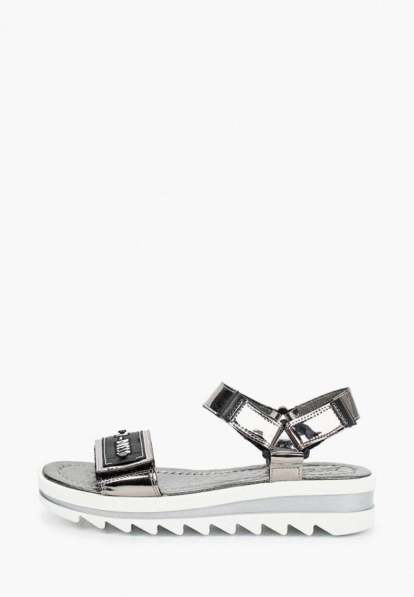 сандалии marko для девочки, черные