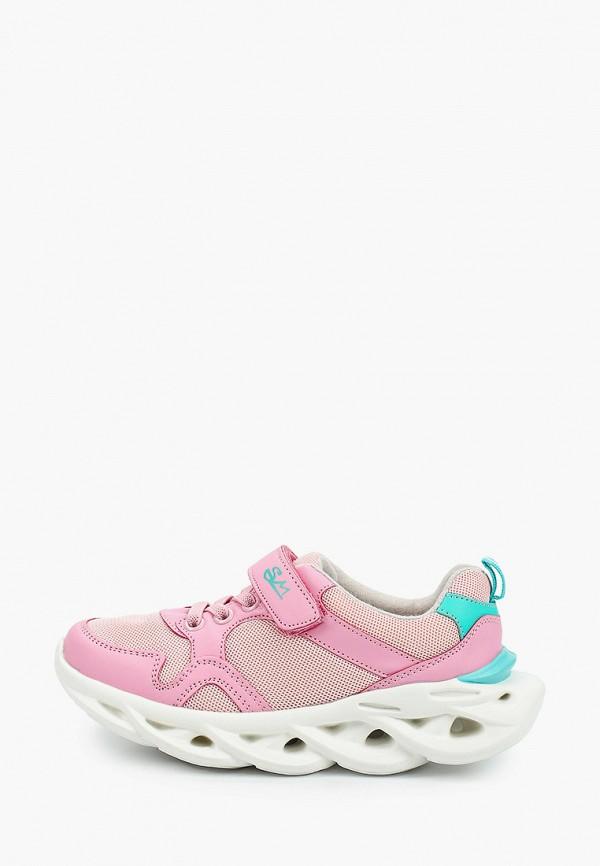 кроссовки marko для девочки, розовые