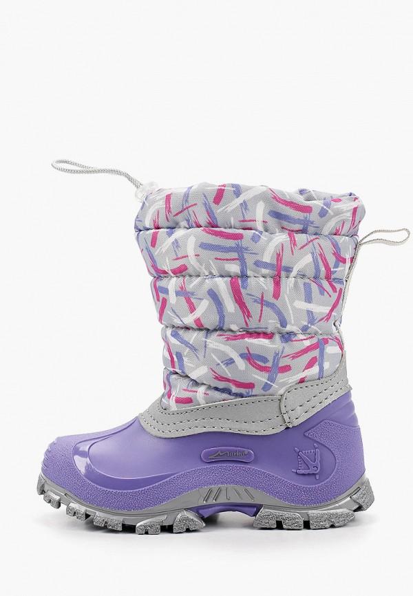 дутики marko для девочки, фиолетовые
