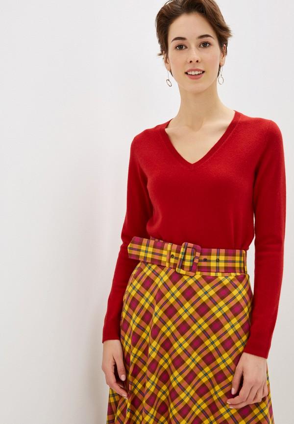 женский пуловер manode, красный