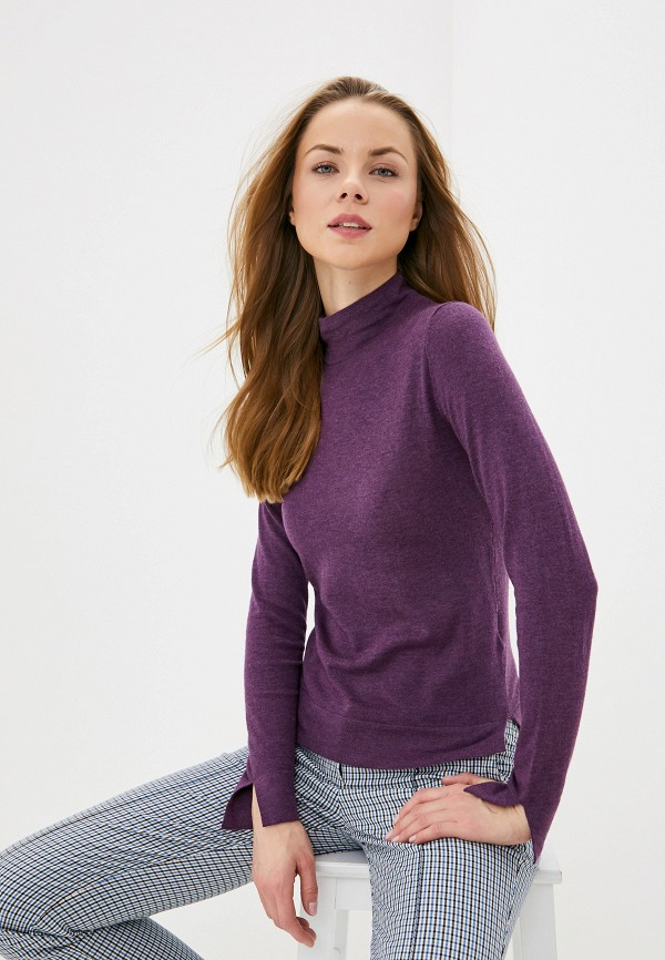 женская водолазка manode, фиолетовая