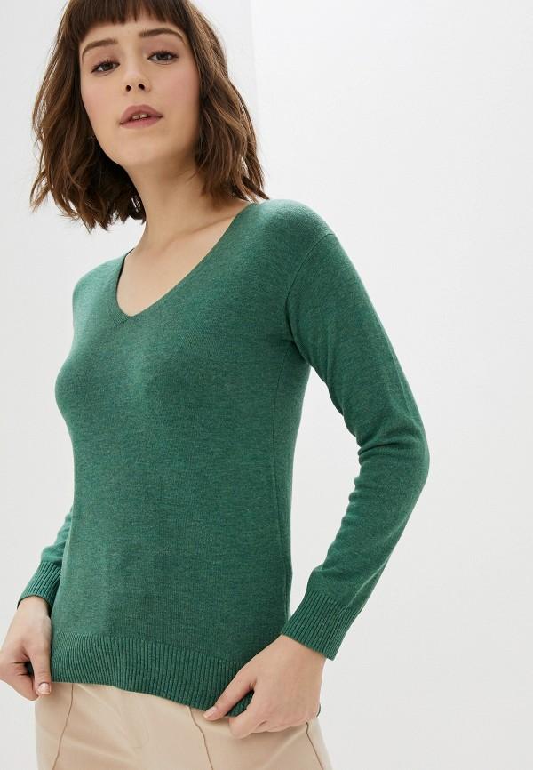 женский пуловер manode, зеленый