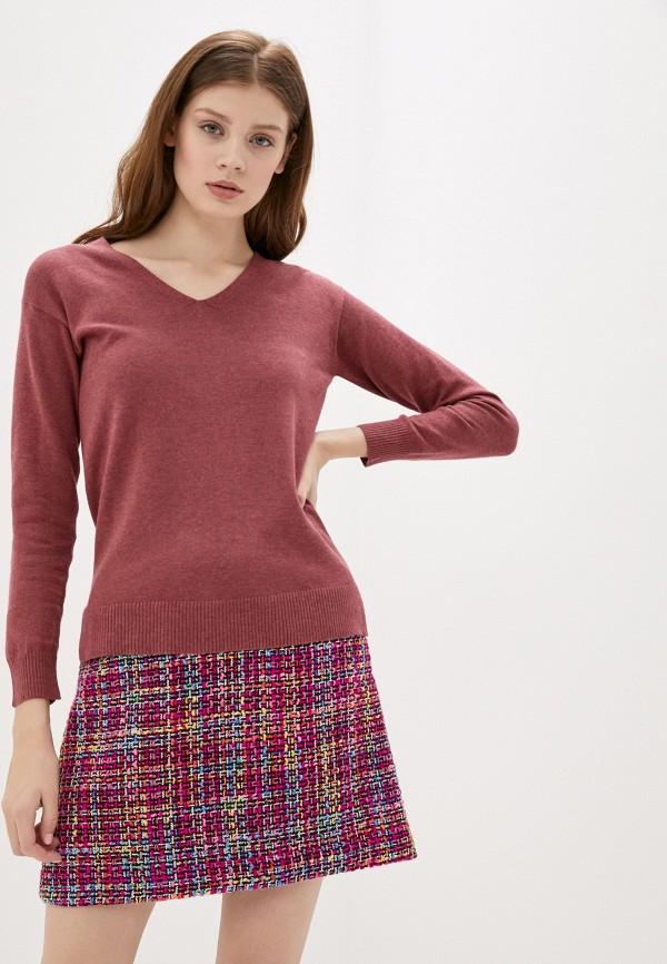 женский пуловер manode, бордовый