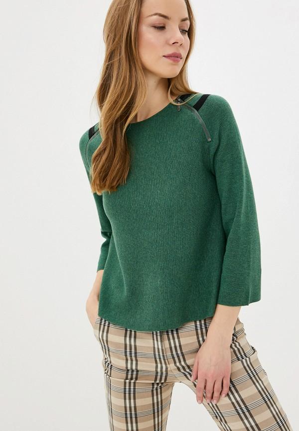 женский джемпер manode, зеленый