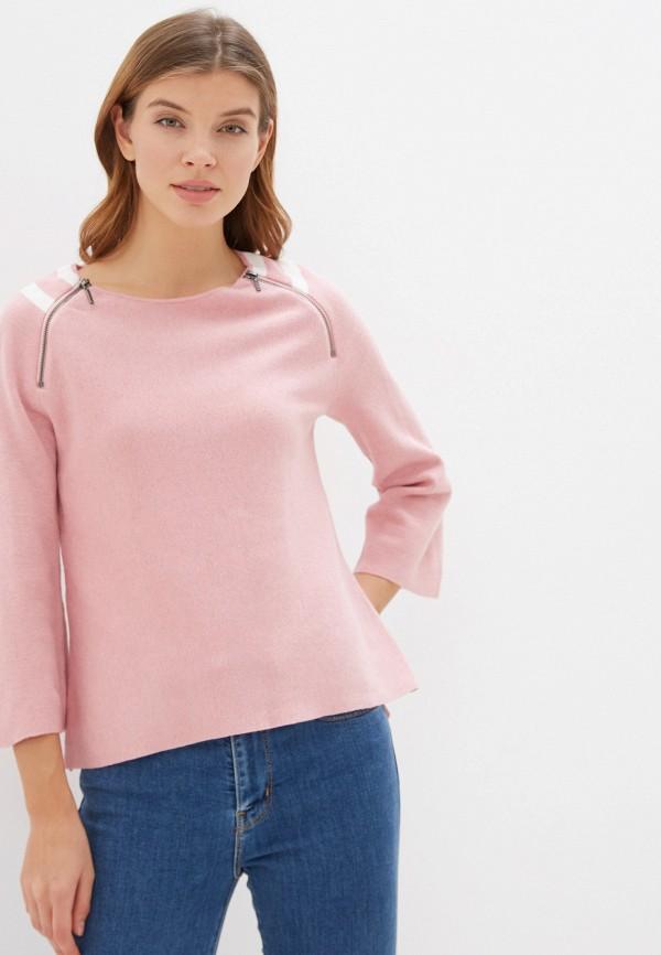 женский джемпер manode, розовый