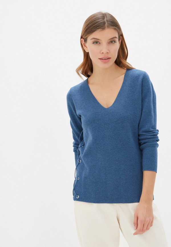 женский пуловер manode, синий