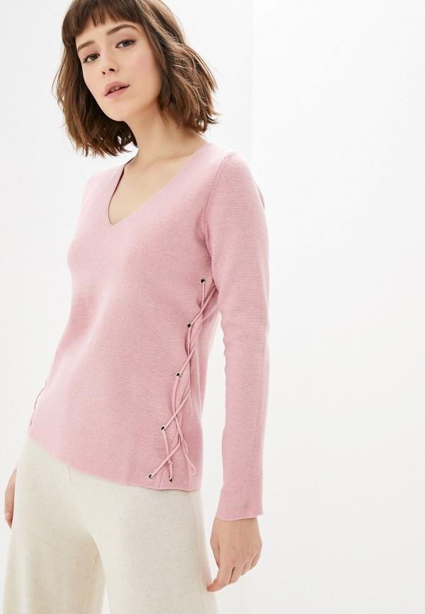 женский пуловер manode, розовый