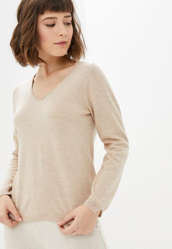 женский пуловер manode, бежевый