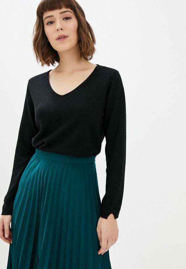 женский пуловер manode, черный