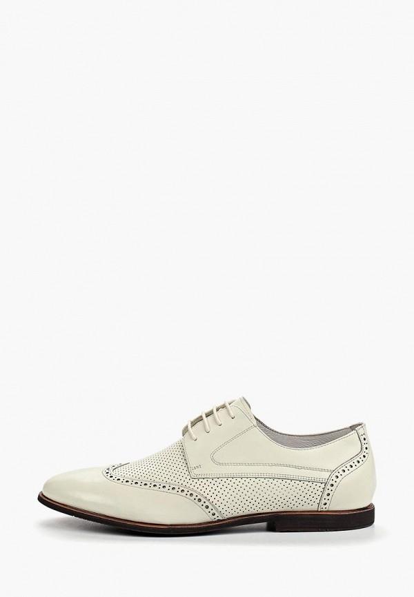 мужские туфли marco lippi, белые