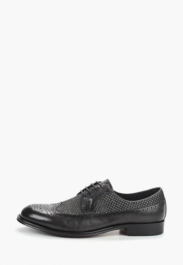 мужские туфли marco lippi, серые