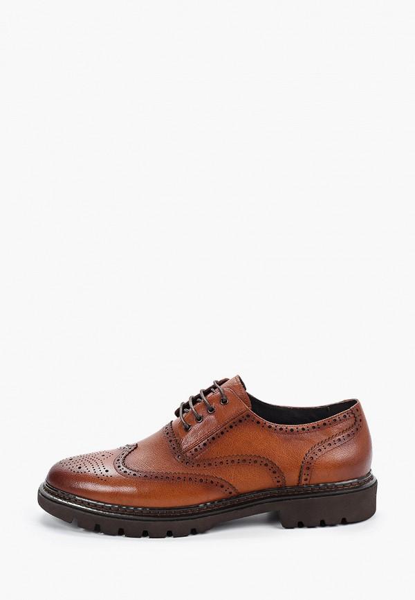 мужские туфли marco lippi, коричневые