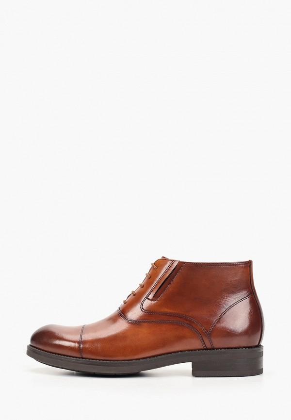 мужские ботинки marco lippi, коричневые