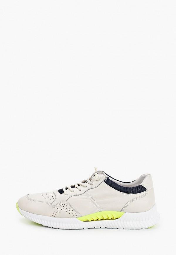 мужские кроссовки marco lippi, бежевые