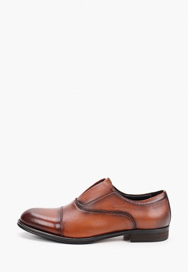 мужские лоферы marco lippi, коричневые