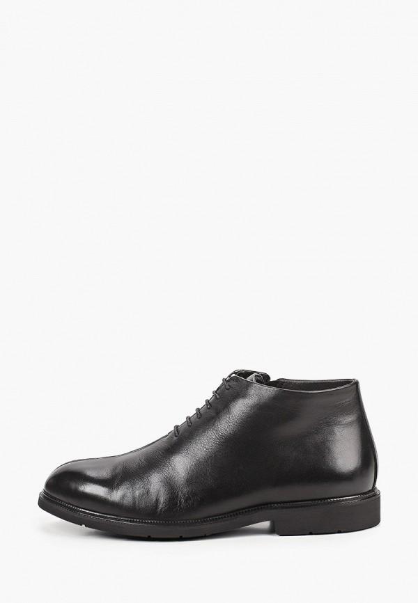 мужские высокие ботинки marco lippi, черные