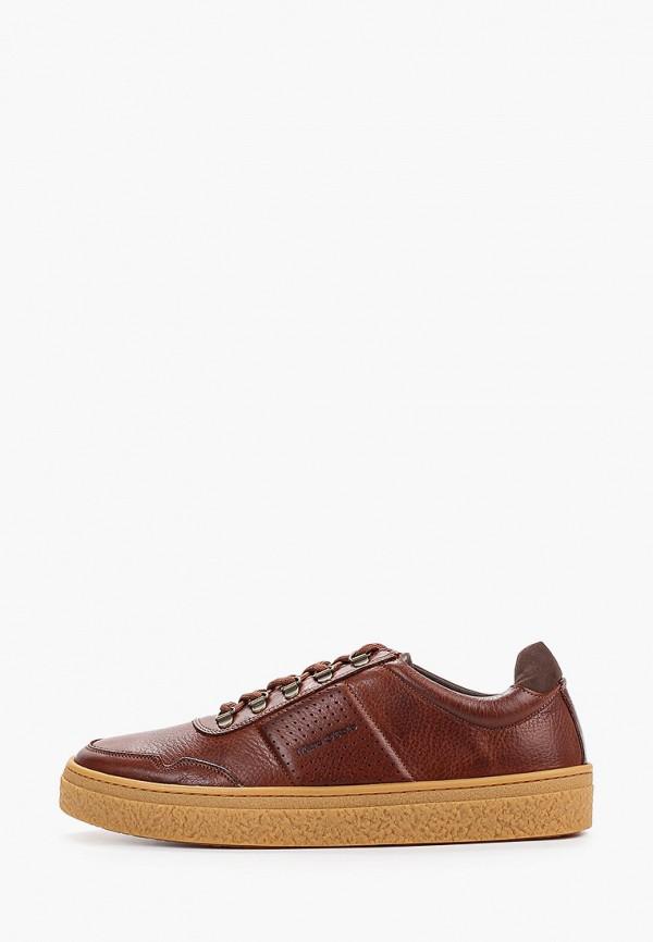 мужские кеды marc o'polo, коричневые