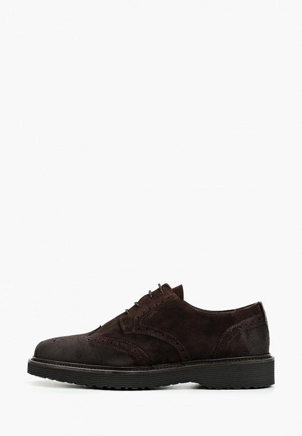 мужские туфли marc o'polo, коричневые