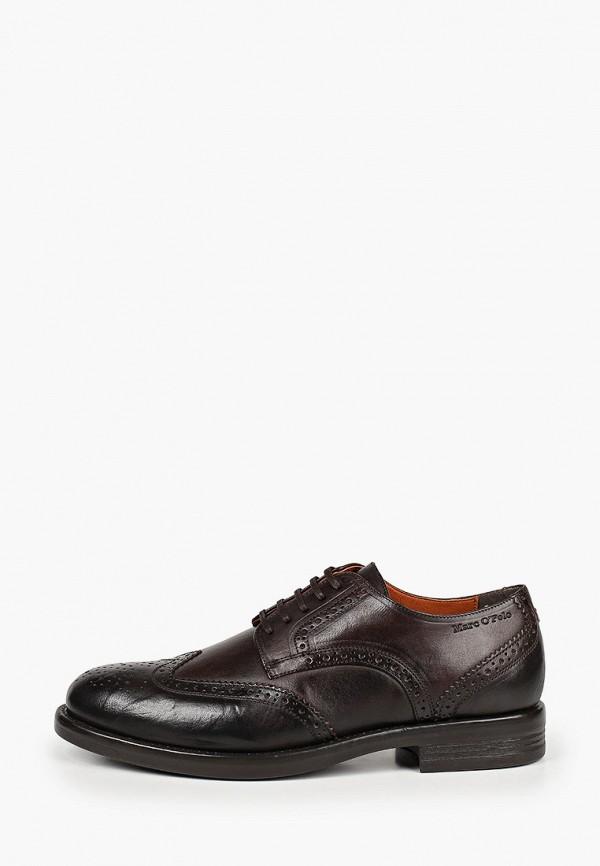 мужские туфли-дерби marc o'polo, коричневые