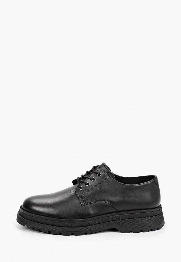 мужские туфли-дерби marc o'polo, черные