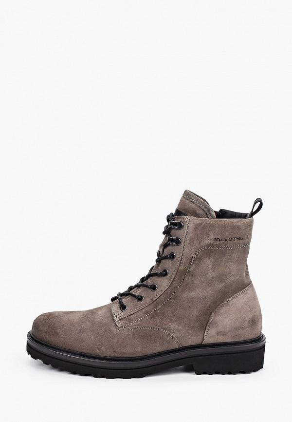 мужские ботинки marc o'polo, серые