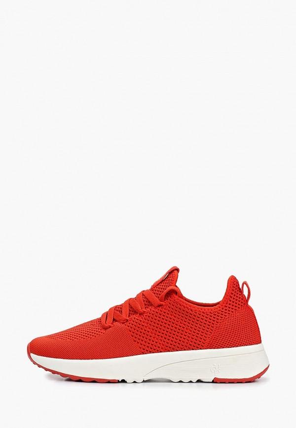 женские кроссовки marc o'polo, красные