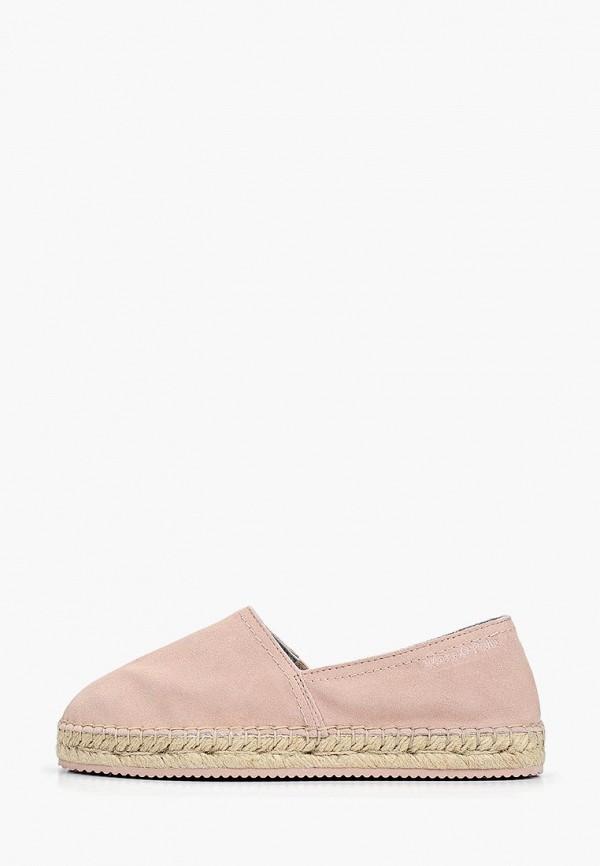 женские эспадрильи marc o'polo, розовые