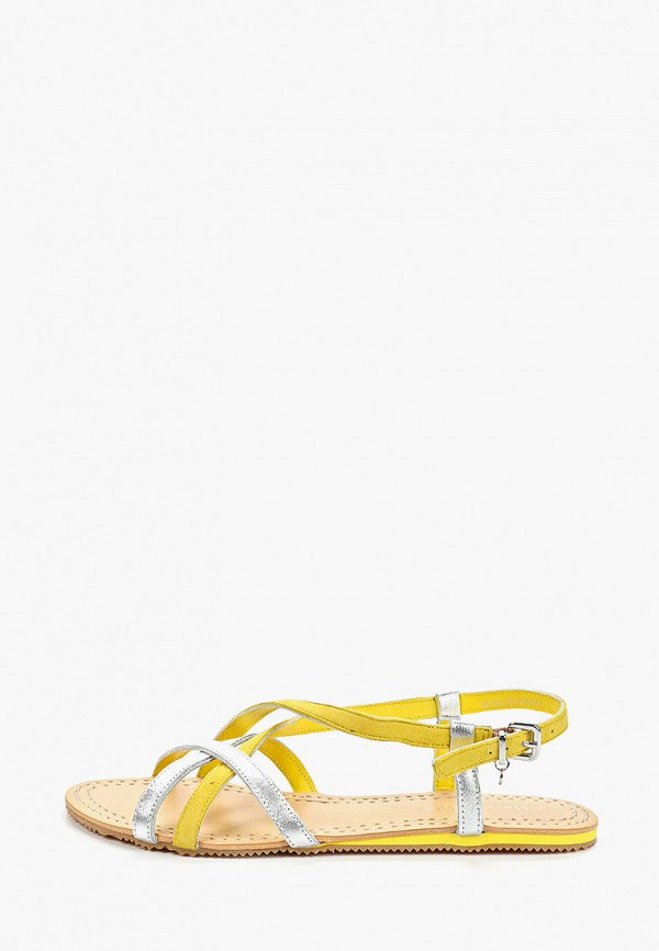 женские сандалии marc o'polo, желтые