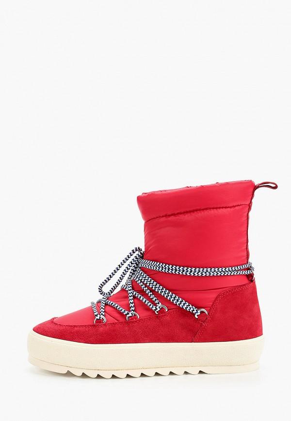 женские дутики marc o'polo, красные