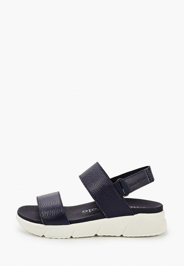 женские сандалии marc o'polo, синие