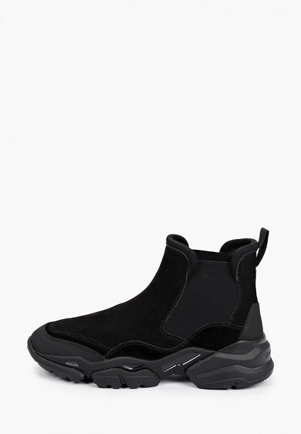 женские кроссовки marc o'polo, черные