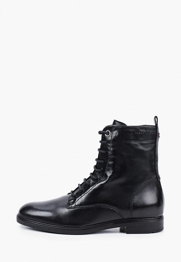 женские ботинки marc o'polo, черные