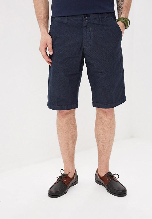 мужские повседневные шорты marc o'polo, синие