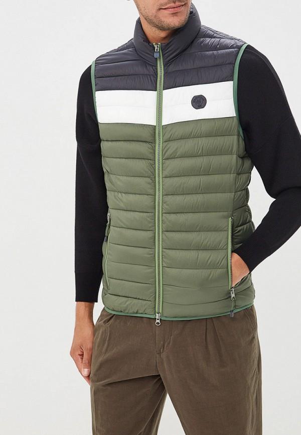 мужской жилет marc o'polo, зеленый
