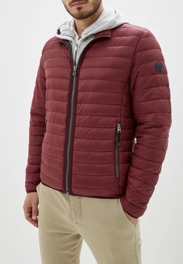 мужская куртка marc o'polo, бордовая