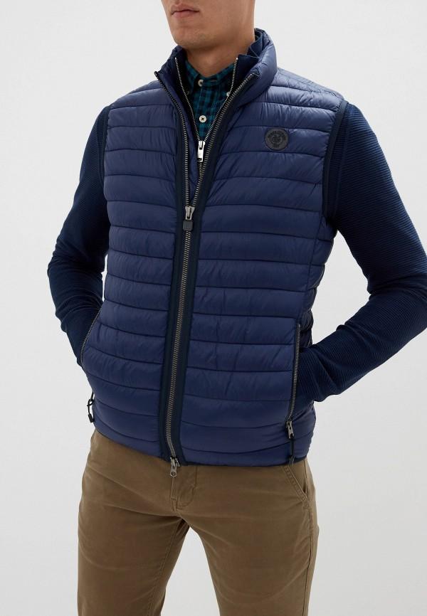 мужской жилет marc o'polo, синий