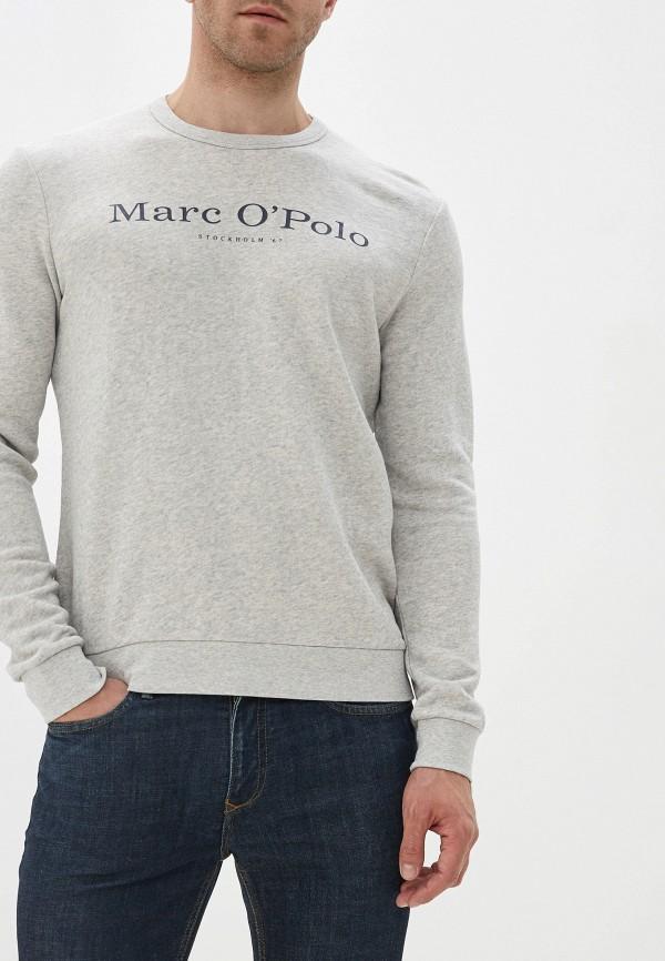 мужской свитшот marc o'polo, серый