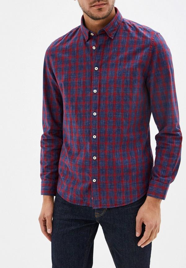 мужская рубашка с длинным рукавом marc o'polo, разноцветная
